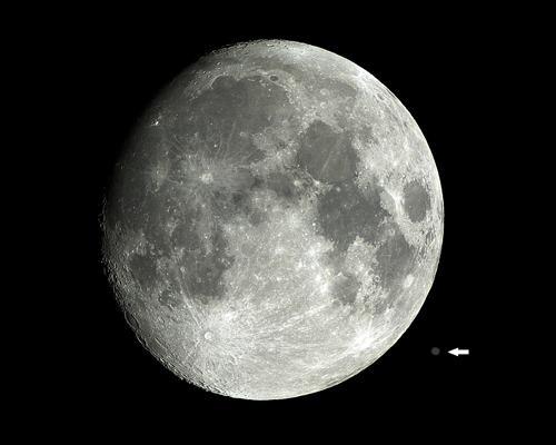 Lua e Júpiter