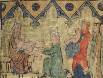 """""""Circuncisão de Isaque"""". Museu de Israel."""