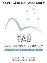 Poster of IAU General Assmbly at Rio de Janeiro.